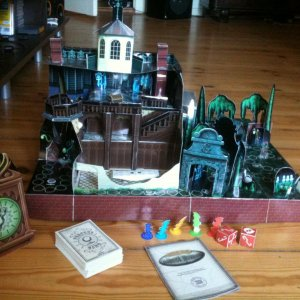 "Projekt ""Escape from the Haunted Mansion"""