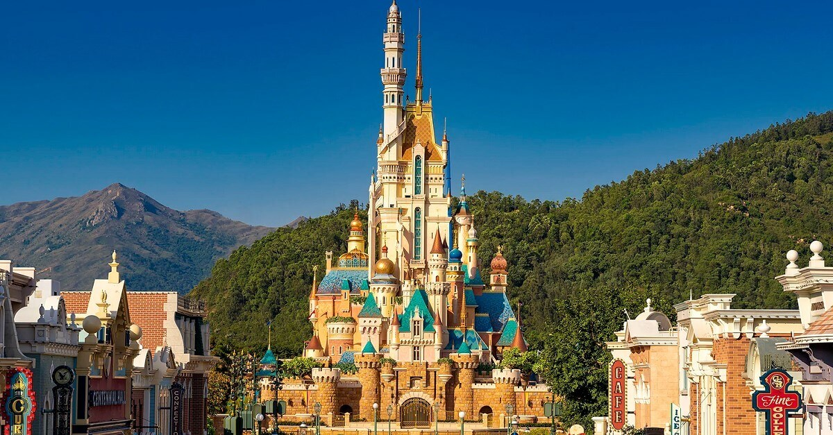 Hong Kong Disneyland: Castle of Magical Dreams