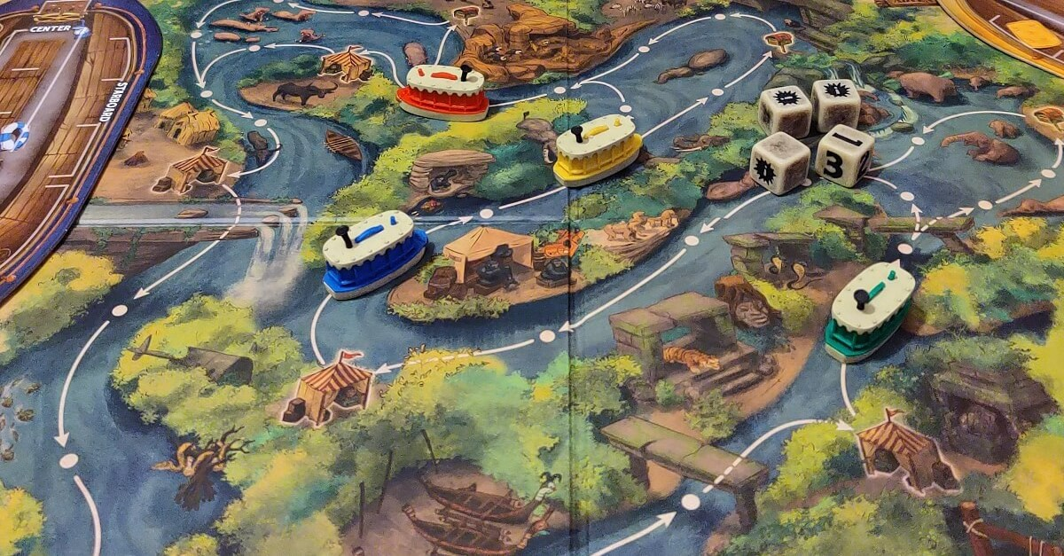 Das Disney Jungle Cruise Brettspiel in der Parks Edition